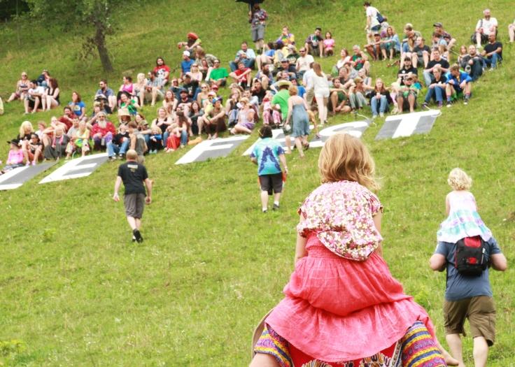 People Fest climb
