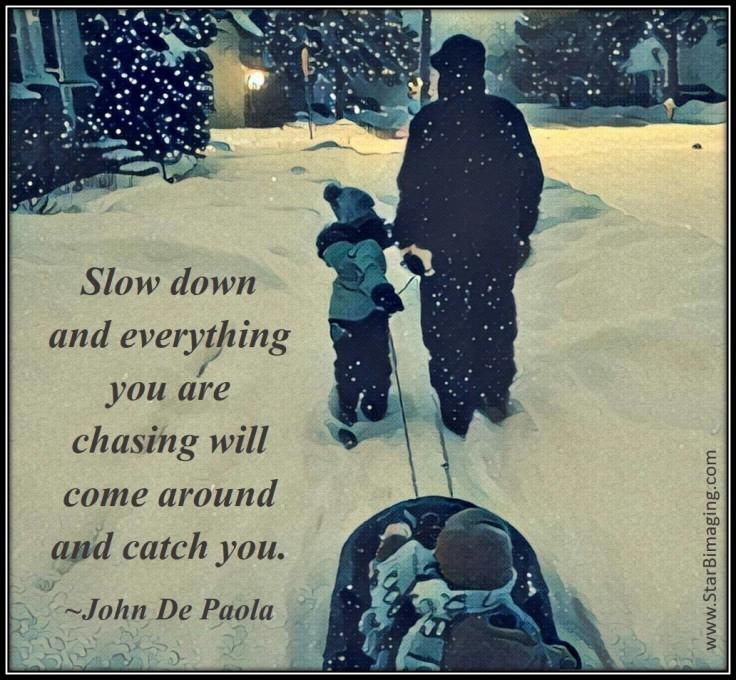slowdown-depaola-quote